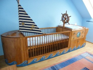 first-bed-of-little-sailor
